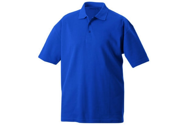 James and Nicholson Unisex Function Polo (Royal Blue) (XL)