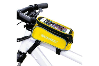 For iPhone 7  7 Plus / 6S 6 / For iPhone 6S PLUS 6 PLUS Bag Bicycle Pouch Yellow