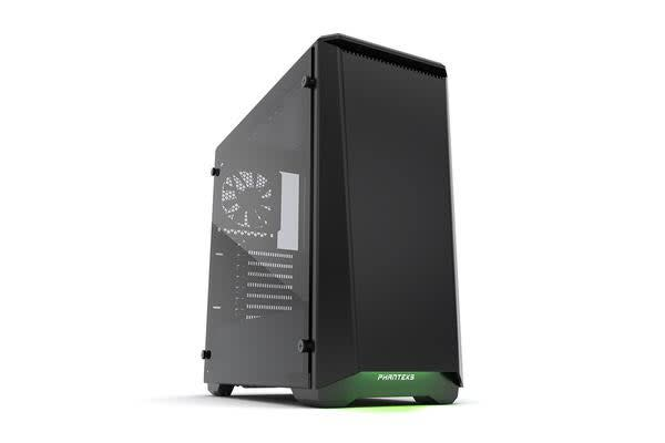 Phanteks Eclipse P400 Tempered Glass Mid Tower Case, Black Edition
