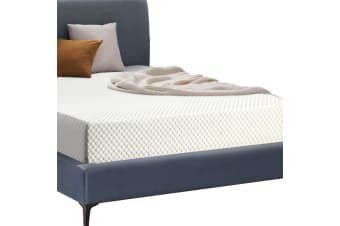 DreamZ Bedding 25.5cm Thick Memory Foam Bed Mattress with Cover King  -  KingKing