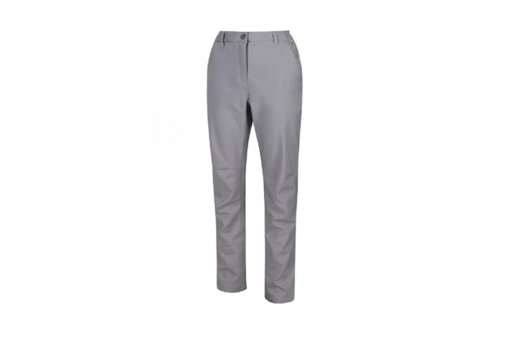 Regatts Womens/Ladies Fenton Softshell Trousers (Rock Grey) (18 UK)