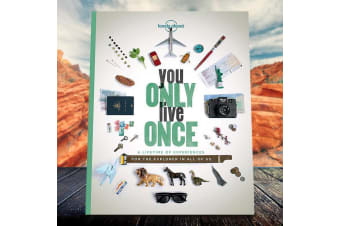 Lonely Planet You Only Live Once - A Book For The Explorer | travel adventure escape wonder countries world land people planet