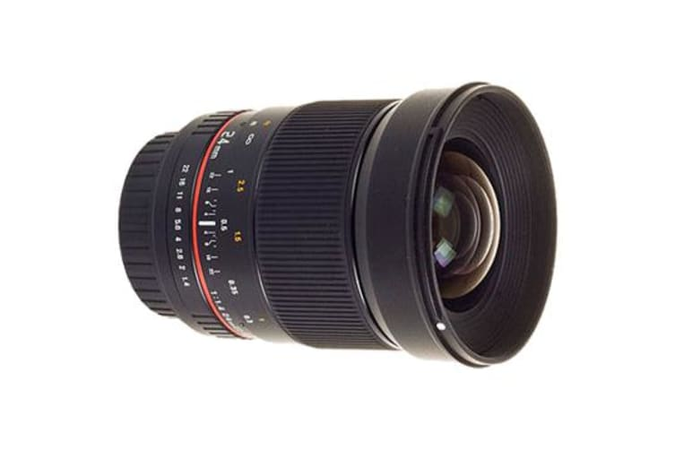 New Samyang 24 mm f/1.4 ED AS UMC for Canon Lens (FREE DELIVERY + 1 YEAR AU WARRANTY)
