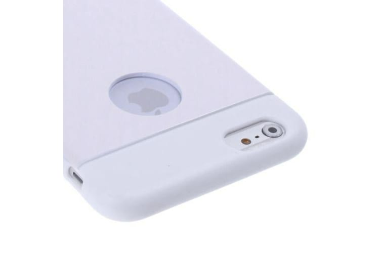For iPhone 6S 6 Case Modern Shell High-Quality Durable Shielding Cover Silver