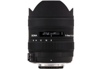 New Sigma 8-16mm F4.5-5.6 DC HSM For Canon Lens (FREE DELIVERY + 1 YEAR AU WARRANTY)