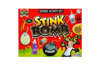 Grafix Weird Science Stink Bomb Science Activity Set