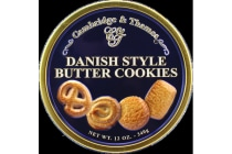 3 x Danish Butter Cookie Tin 340gm