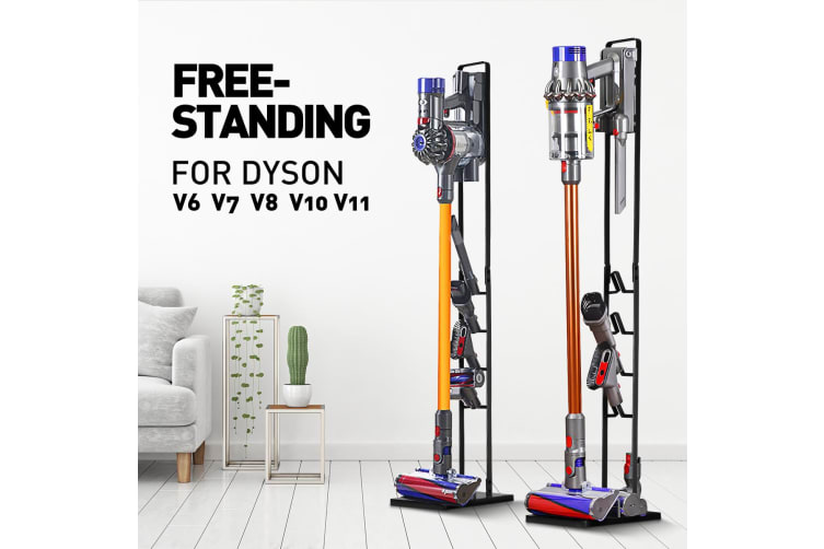 Vacuum Mounting Bracket Rack Hanger Standing Dock Cordless Cleaner for Dyson V7 V8 V10 V11 Black