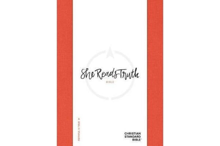 CSB She Reads Truth Bible, Poppy Linen, Indexed