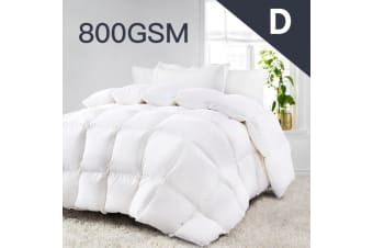Double Size 800GSM Quality Ultra-Warm Winter Weight Quilt