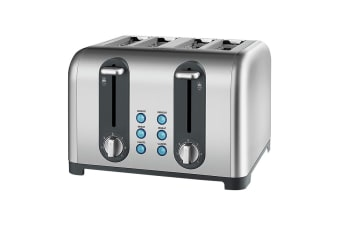 Kambrook 4 Slice Brushed Stainless Steel Toaster (KT460)