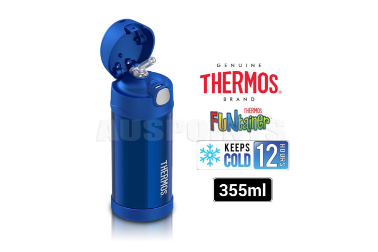 Thermos 355ml Vacuum Insulated Stainless Steel Drink Bottle Funtainer
