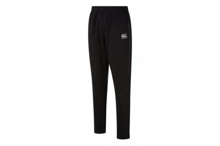 Canterbury Mens Stretch Tapered Quick Drying Trousers (Black) (XXL)