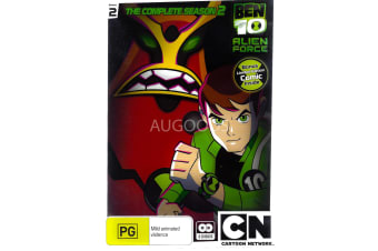 BEN 10 ALIEN FORCE THE COMPLETE SEASON 2 -Kids Series Region 4 DVD NEW