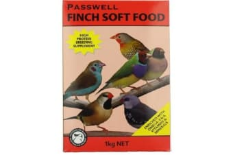 Passwell Finch Soft Food - 1kg