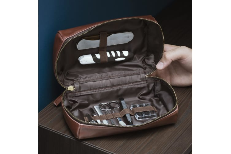 Thumbs Up Cavendish Collection Premium Grooming Bag