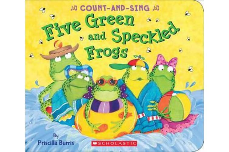 Five Green and Speckled Frogs - A Count-And-Sing Book
