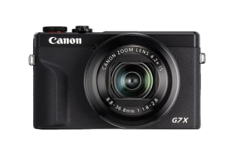 Canon PowerShot G7 X Mark III with 4K Video Recording