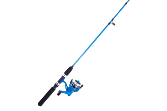 Blue 5ft Jarvis Walker Little Devil 2-4kg Fishing Rod and Reel Combo-2 Pce Kids Combo