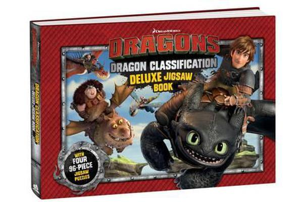 Dragons Deluxe Jigsaw Book