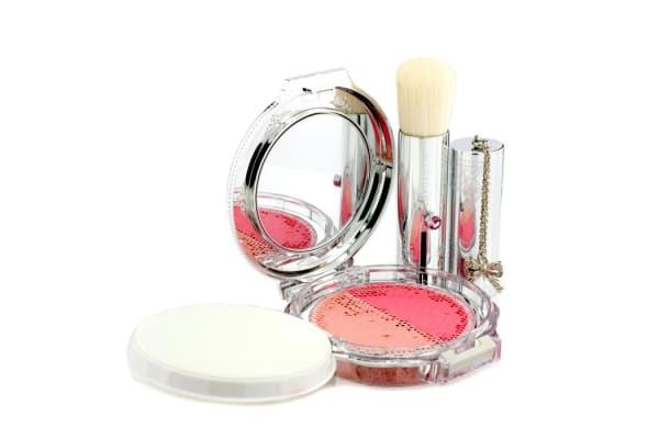 Jill Stuart Blush Blossom Dual Cheek Color (With Brush) - # 09 Embellished Mimosa (5g/0.17oz)