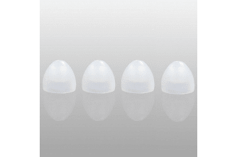 Klipsch 4 Pack Medium Replacement Oval Ear Buds Tips for Klipsch Image Models
