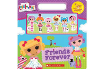 Friends Forever Magnetic Play Book