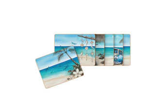 Cinnamon Paddle Bliss Coasters Set of 6