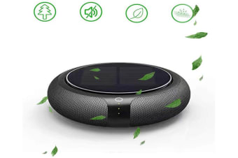 3 Speeds Air Purifier,Household and Car Air Freshener Car Air Purifier,Powerful Smoke Remover,Solar Assisted Charging