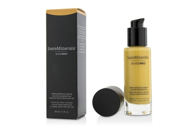 BareMinerals BarePro Performance Wear Liquid Foundation SPF20 - # 17 Camel 30ml