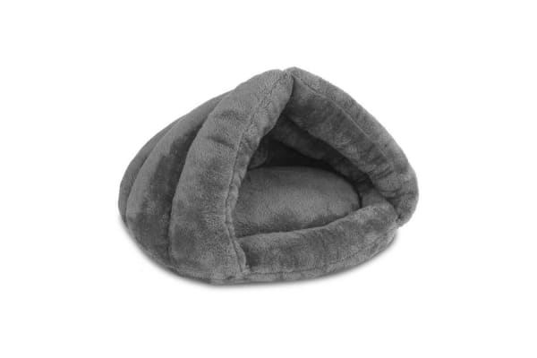 Cave Style Pet Bed (Grey)