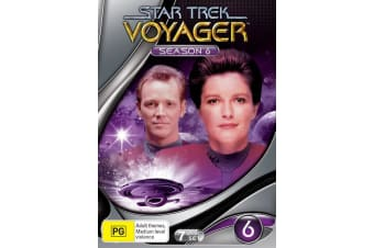 Star Trek Voyager Season 6 DVD Region 4
