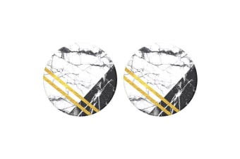 2PK Popsockets Art Deco Marble Swappable Top for Base Stand PopGrip