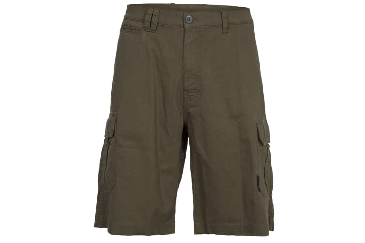 Trespass Mens Rawson Shorts (Olive) (XL)