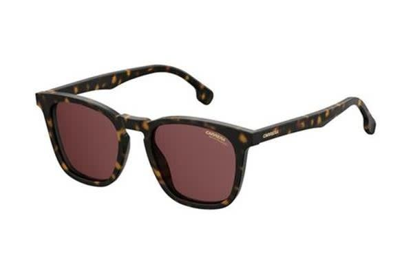 CARRERA 143S - Dark Havana (Red Polarised lens) Unisex Sunglasses