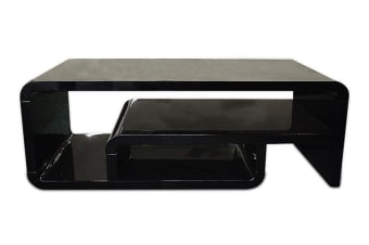 Step Coffee Table (Black)