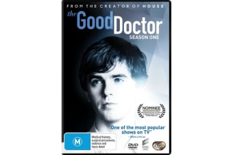 The Good Doctor Season 1 DVD Region 4