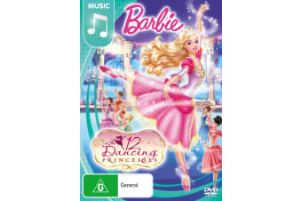 Barbie The Twelve Dancing Princesses DVD Region 4