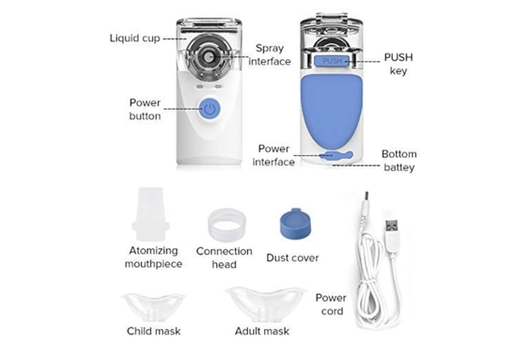 Portable Cool Mist humidifier Machine Professional Ultrasonic Vaporizer for Kids & Adults