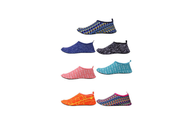Quick Drying Outdoor Water Shoes For Beach Swim Surf Yoga Exercise Blue M