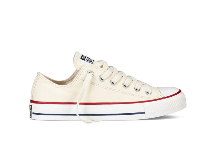 Converse Chuck Taylor All Star Ox Lo (Off White, US Mens 13 US Womens 15)