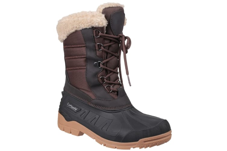 Cotswold Womens/Ladies Coset Waterproof Tall Hiking Boots (Brown) (8 UK)