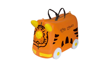 Kids Trolley Ride-On Luggage - Orange
