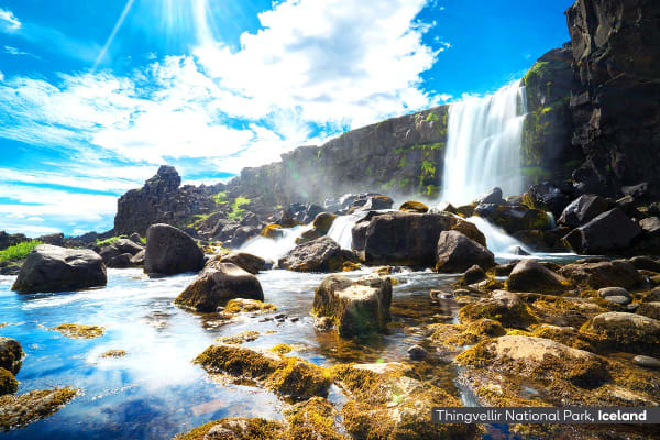 ICELAND: 12 Day Best of Iceland & Scandinavia Tour Including Flights for Two