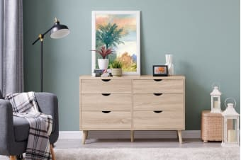 Shangri-La Chest of 6 Drawers - Nyhavn Collection (Oak)