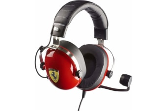 Thrustmaster 4060105 T-RACING SCUDERIA FERRARI EDITION GAMING HEADSET - All Formats