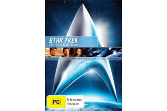 Star Trek 4 The Voyage Home DVD Region 4