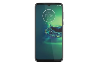 Motorola Moto G8 Plus (Dual Sim 4G/4G, 64GB/4GB, 48MP)  - Cosmic Blue