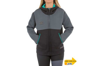JetPilot 2mm Ladies Flight Tour Coat - Teal - 10