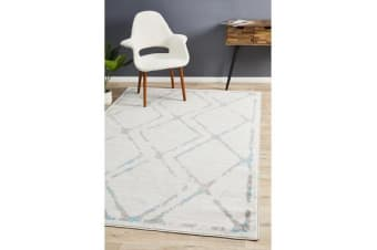 Felicia Blue & Grey Soft Coastal Rug 290x200cm